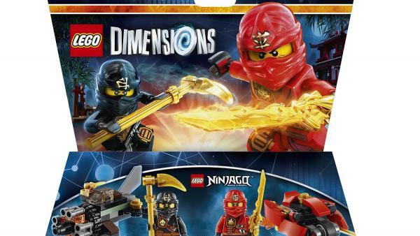 """Erweiterung: """"Ninjago"""" Funpack: zwei Ninjas und zwei Vehikel"""