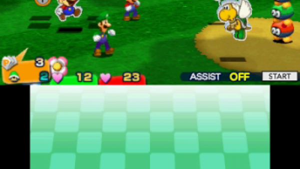 Screenshot: Kampfbildschirm