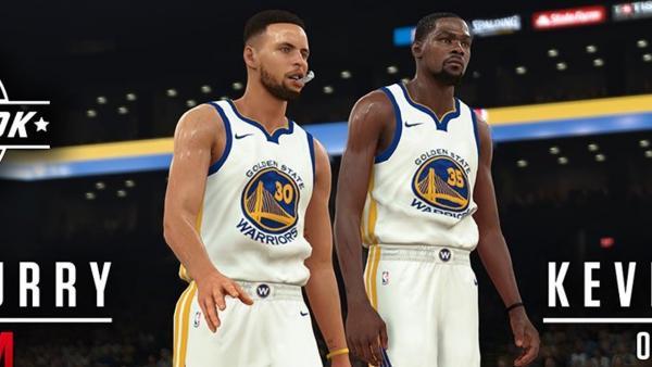Screenshot: Zwei Basketballspieler gehen nebeneinander