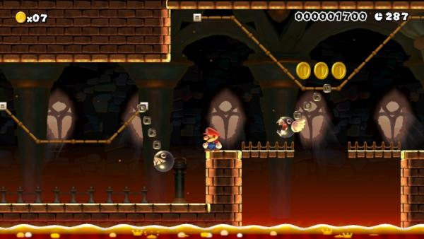 Screenshot: düsteres Level
