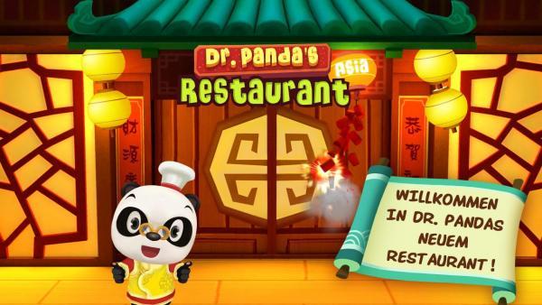 Titelbild mit dem Koch vor asiatischem Lokal