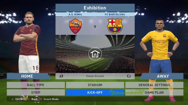 Screenshot: Spielertabelle