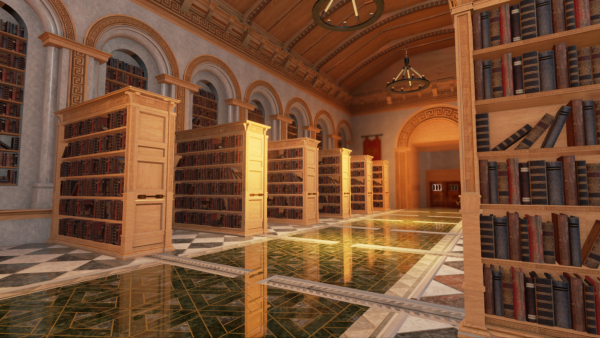 Screenshot: Bibliothek