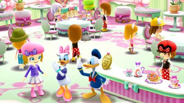 Donald Duck mit seinen Freunden