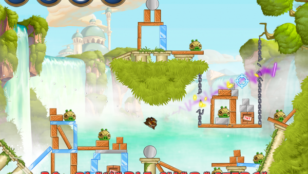 Screenshot des Spielgeschehens