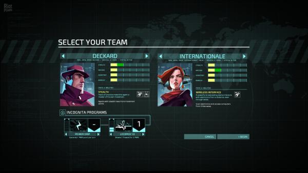 Screenshot: beide Hauptcharaktere