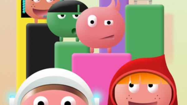 Screenshot: einige ballförmige Charaktere