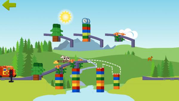 Screenshot: eine Brücke
