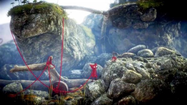 Screenshot: Yarny im Wald