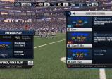Screenshot: zeigt den Auswahlbildschirm für die verschiedenen Spielzüge innerhalb einer Partie.