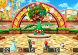 Ein Minispiel bei dem die Spielenden Bomben auf eine riesige fleischfressende Pflanze werfen.