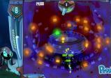 Peggle-Meisterin Luna mit aktivierter Spezialfähigkeit: alle blauen Steine sind durchsichtig.
