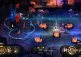 Screenshot: Eine Gruppe von Spielfiguren auf einem Fantasy-Schlachtfeld.