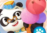 Cover: Auf dem Cover ist ein Panda mit einer Eistüte in der Hand.