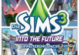 """Cover von """"Sims 3"""" mit neuen Technologien wie Raketenrucksack"""