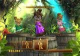Die Chipmunks tanzen im Dschungel.