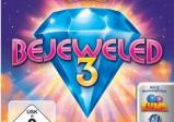 """Das Titelbild zeigt einen großen blauen Diamanten und den Schriftzug """"Bejeweled 3""""."""