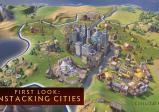 sich ausbreitende Städte über mehrere Felder hinweg