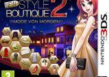 Cover vom Spiel mit einer Kleinstadt im Hintergrund und einer gestylten Frau im Vordergrund.