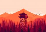 Cover: Ein Wasserturm steht in einem rötlich gefärbten Wald.