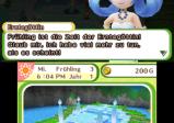 screenshot: Erntegöttin mit blauen Haaren und die Quelle der Erntegöttin
