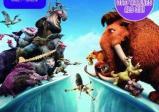 Die Ice Age Charaktere stehen Ihren Gegnern gegenüber.