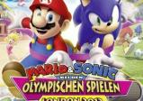 Mario und Sonic zeigen in die Kamera.