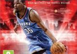 Ein Basketballspieler im vollen Lauf