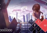 Screenshot: Menü von einem Song, Schwierigkeitsgrad und Geschwindigkeit sind einstellbar.