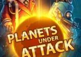 Das Coverbild zeigt einen strahlenden Planeten und zwei Spielfiguren.