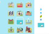 Screenshot: ein Menü das verschiedene Bauanleitungen anzeigt.