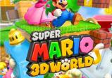 Der Packshot zeigt Mario und einige seiner Freunde vor der bunten Spielwelt.