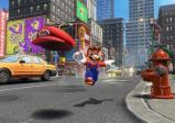 screenshot: Mario wirft im Sprung seine Kappe.