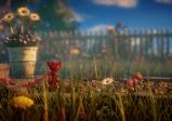 Screenshot: Yarny im Garten