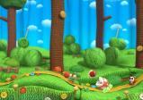 Screenshot: Die komplette Welt ist aus Wolle und Stoff.
