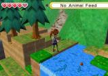 Screenshot: ein Mädchen fischt