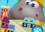 Cover: ein riesiges Nilpferd mit Bauhelm hinter einer Miniaturstadt.