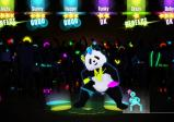 Screenshot: ein tanzender Panda