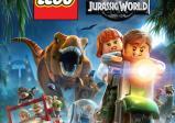 Cover: zwei LEGO-Figuren flüchten mit dem Motorrad vor einem LEGO-Tyrannosaurus Rex