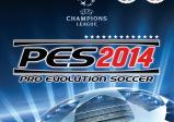 Cover von Pro Evolution Soccer 2014 mit Logo der UEFA Champions League