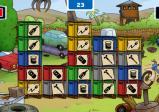 eine Kistenstapel-Spiel