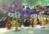 Man kann In-Game Fotos schießen - hier sind verschiedene Pikmin-Arten zu sehen.