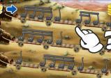Screenshot: Ochsen ziehen Musiknoten hinter sich her