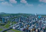 Screenshot mit Blick auf die detailreiche Stadt.