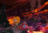 Screenshot: Ungh in einer Lava-Höhle