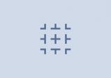 Screenshot: Mehrere, nicht-verbundene geometrische Figuren auf einfärbigem Hintergrund