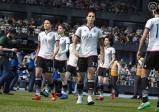 Screenshot: Die Deutsche Frauen-Nationalmannschaft betritt das Spielfeld
