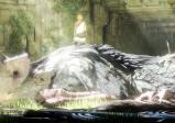 Screenshot: Eine große Kreatur schläft auf einer Wiese.