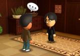 """Screenshot von """"Tomodachi Life"""" mit zwei sich unterhaltenden Spielfiguren"""