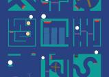 Screenshot: Verschiedene Labyrinthe mit jeweils einer weißen Kugel, die den roten Schalter erreichen muss.